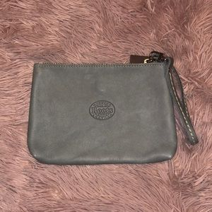 NWT Roots wristlet